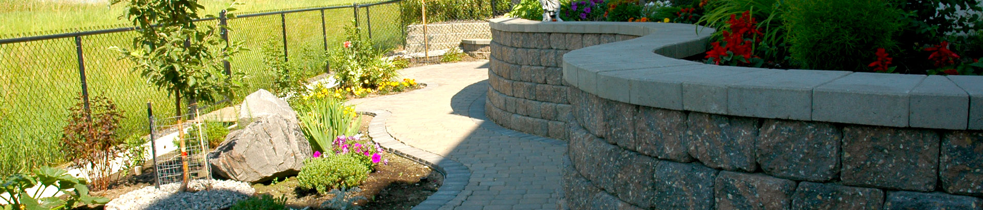 Calgary\'s Best Retaining Walls by Mirage