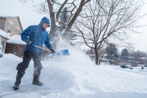 Safe Shovelling in the Winter