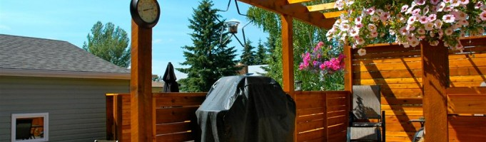 Custom Decks and Fences By Mirage Landscaping of Calgary