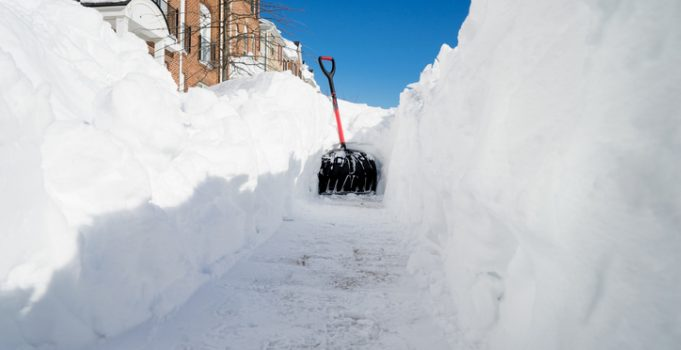 Mirage Landscaping Snow Removal Combats Ice and Snow in Calgary