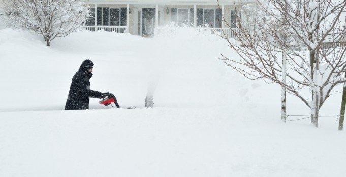 Healthy/Safety Snow Removal Tips